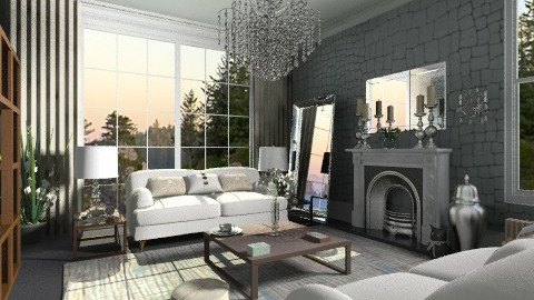 Primrose2 - Classic - Living room  - by camilla_saurus