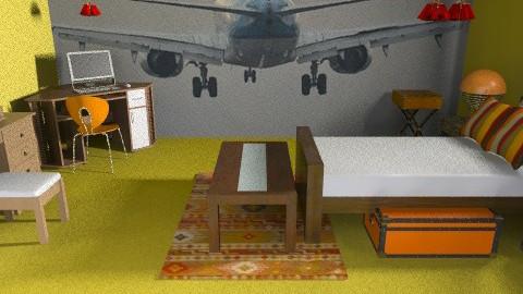 PLANE - Classic - Bedroom  - by HannaTOTE