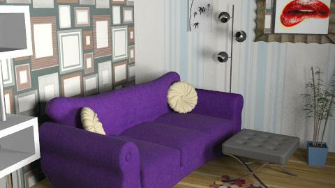 Thing2 - Retro - Living room  - by PepperQ