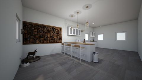 Modern Farmhouse kitchen - Kitchen  - by RachelWatson