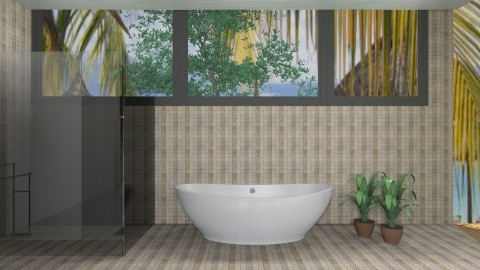 Hawaiian Spa - Modern - Bathroom  - by deleted_1513655778_Valencey14