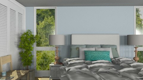 Master Bedroom on the Beach - Modern - Bedroom  - by Carliam