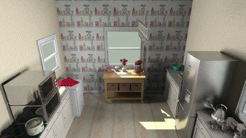 kitchen - Retro - Kitchen  - by mishy mish