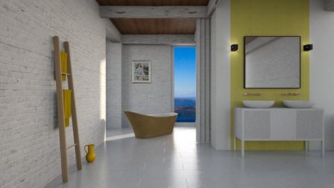 Yellow Bathroom - Modern - Bathroom  - by tolo13lolo