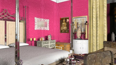 Indian Princess's room - Classic - Bedroom  - by Your well wisher