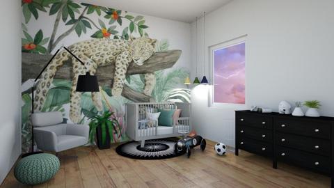 no gender nursery - Kids room  - by milouroomtour