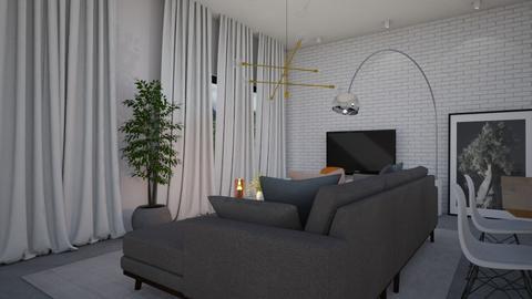 Living room_070721 - Minimal - Living room  - by Sefi Zohar