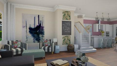 living room - Living room  - by skiiergirl315