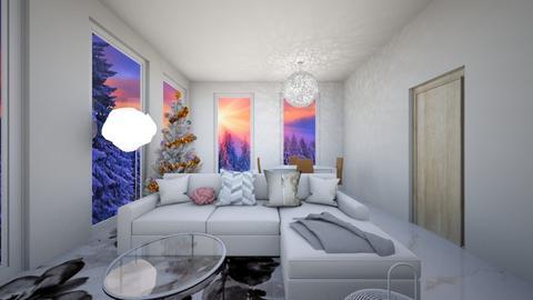 Christmas - Glamour - Living room  - by Twerka