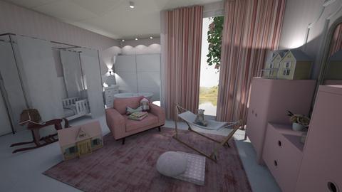 Nursery pink - Kids room  - by ana111