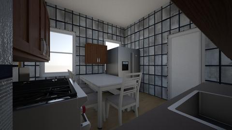 Cocina 2 - Kitchen  - by exdrawi