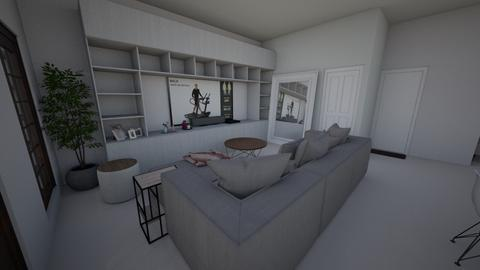 Ruang Tamu - Living room - by fayerith