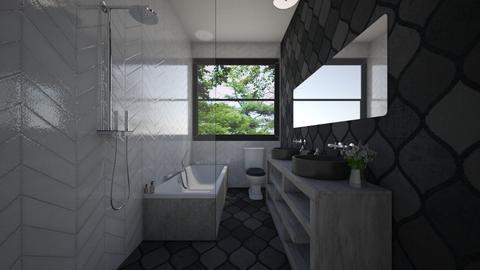 back b - Bathroom  - by zacf