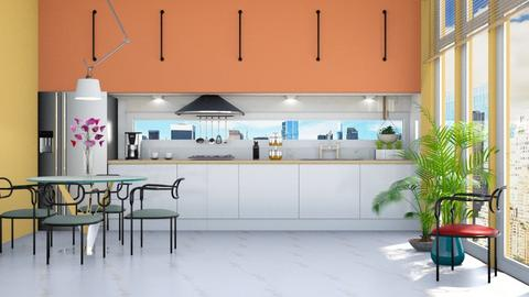 Playful kitchen - by Aymee Estrella