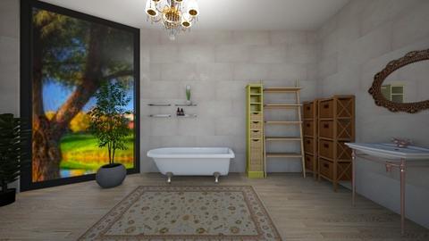 Electirc bathroom - Eclectic - Bathroom  - by 06966147