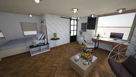 Bright Conception Room - Modern - Living room - by piyatida
