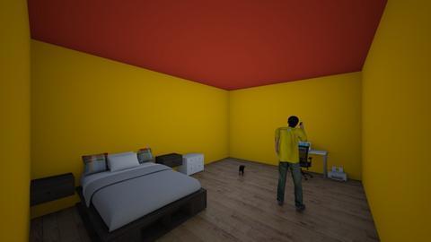 Sean 6A Mi Domitorio - Modern - Bedroom  - by dufva25345635