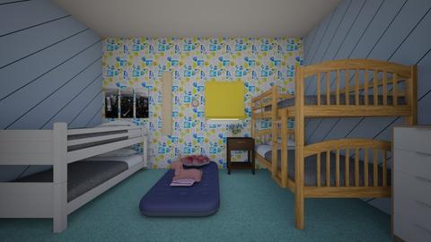 The Bonding Room - Kids room  - by haenamiese_61