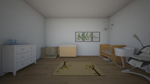 unfinished baby room - Kids room  - by Crocsrule2