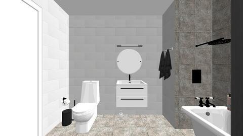 badrum - Bathroom  - by linneabergqvizt