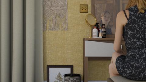 Make_up - Modern - Bedroom  - by HenkRetro1960