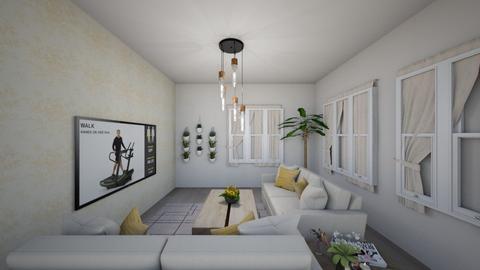 banna - Living room  - by Isla G