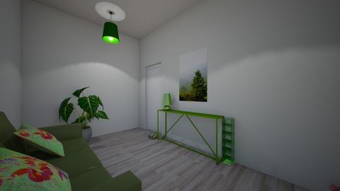 Green - Classic - Living room  - by mariarosaly