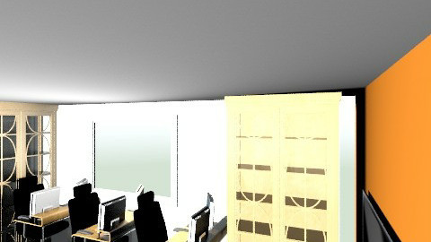 Furnished ops room - Minimal - Office  - by oilau
