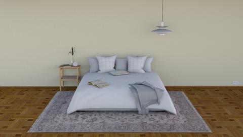 Minimal Bedroom - Minimal - Bedroom  - by HenkRetro1960