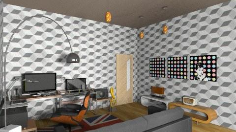 studio dj room001 - Eclectic - Office - by deedy saleh
