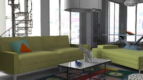 Du Pasquier - Eclectic - Living room  - by The_Hunter_and_Gatherer