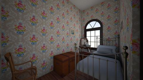 victorian servants room - Vintage - Bedroom  - by PeculiarLeah