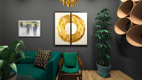 Velvet  - Living room  - by MaiZee20