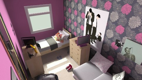Emma and Shannons  room - Bedroom - by FN27622