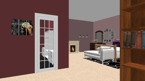master bedroom - Retro - Living room  - by rebecca stone