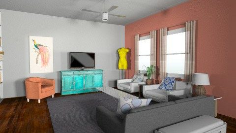 apt go - Eclectic - Living room - by Marxipan