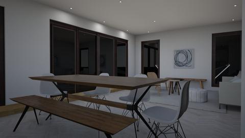 Recessed lighting draft 3 - Living room  - by gleidy