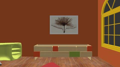 Liana's room - Retro - Bedroom  - by hailabc