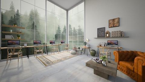 Natural Workplace - Modern - Office  - by evabarrett