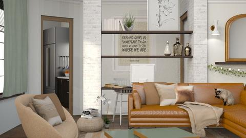 B O O K M A R K - Living room  - by Kelli Mallory