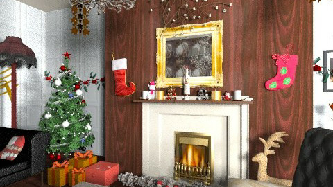Christmas tunes - Classic - Living room - by mrschicken