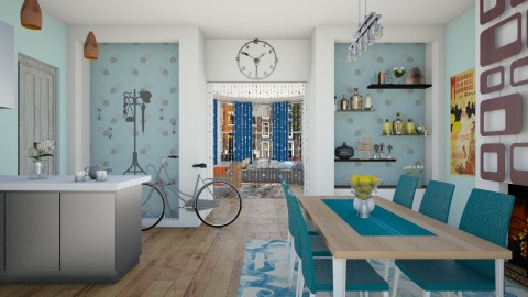 Classic Dutch House - Minimal - Kitchen  - by bibi_pat