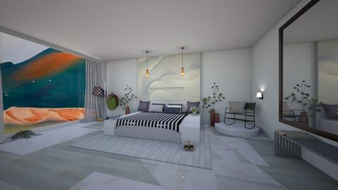 o keeffe bedroom - Modern - Bedroom - by abbysrooms