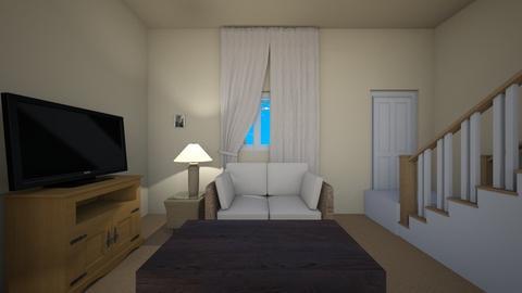 California Apt Summer - Living room  - by mspence03