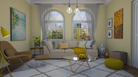 Sunny - Living room  - by Tuija