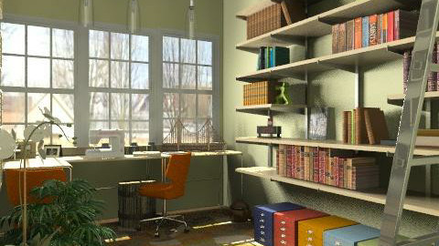 Crafty - Eclectic - Office  - by natural11