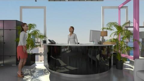 Espaco cadeirante - Retro - Living room  - by belle22