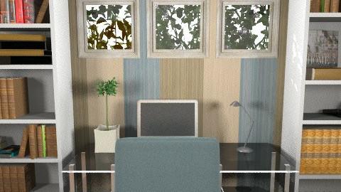 office - Modern - Office - by mariannee1