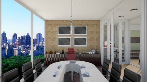 Conference Room - Modern - Office  - by giulygi