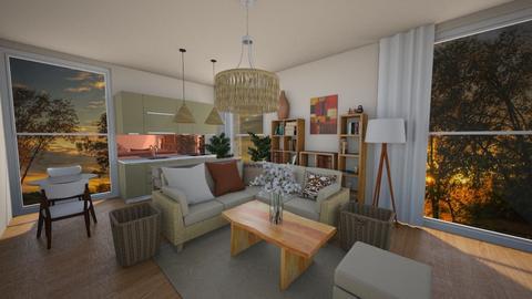 Cozy - Living room  - by nkanyezi
